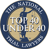 NTL Top 40 Trial Lawyers Under 40 Award