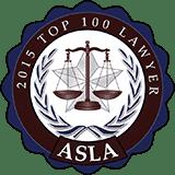 ASLA top 100 Lawyers award